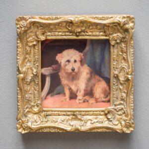 Cornice oro – Dog
