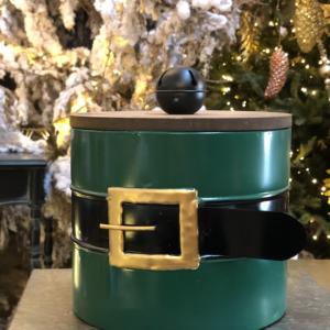 Scatola Babbo Natale – verde