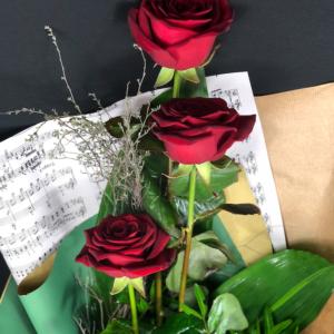 Rose rosse – 3 steli