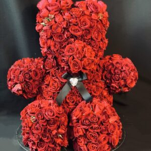 Teddy – Rose rosse